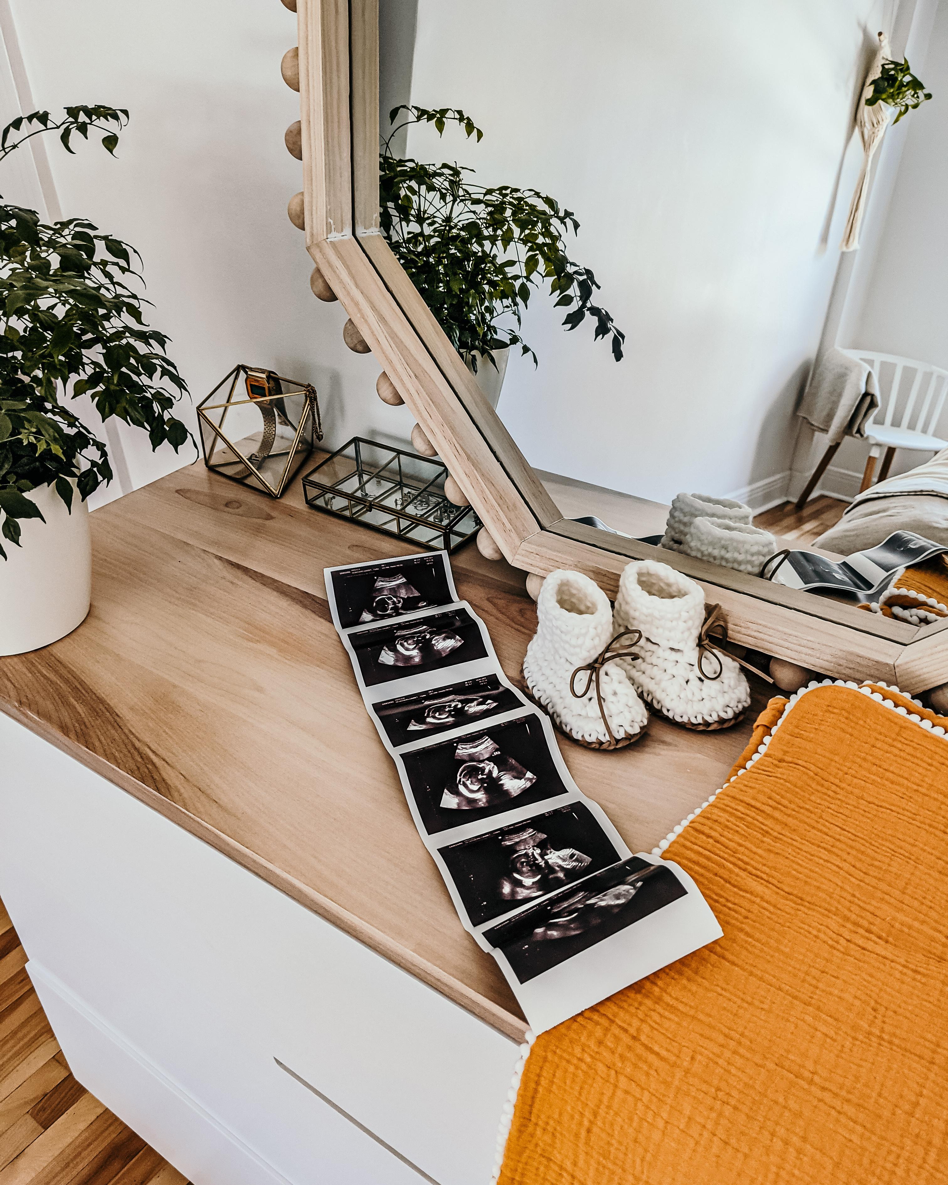 camille dg échographie bébé