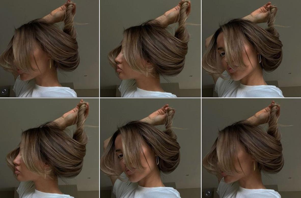 fille cheveux photo
