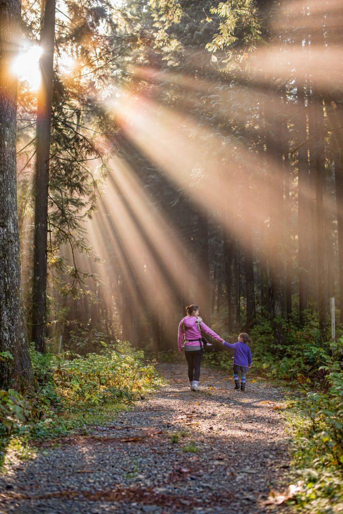 mère forêt fille