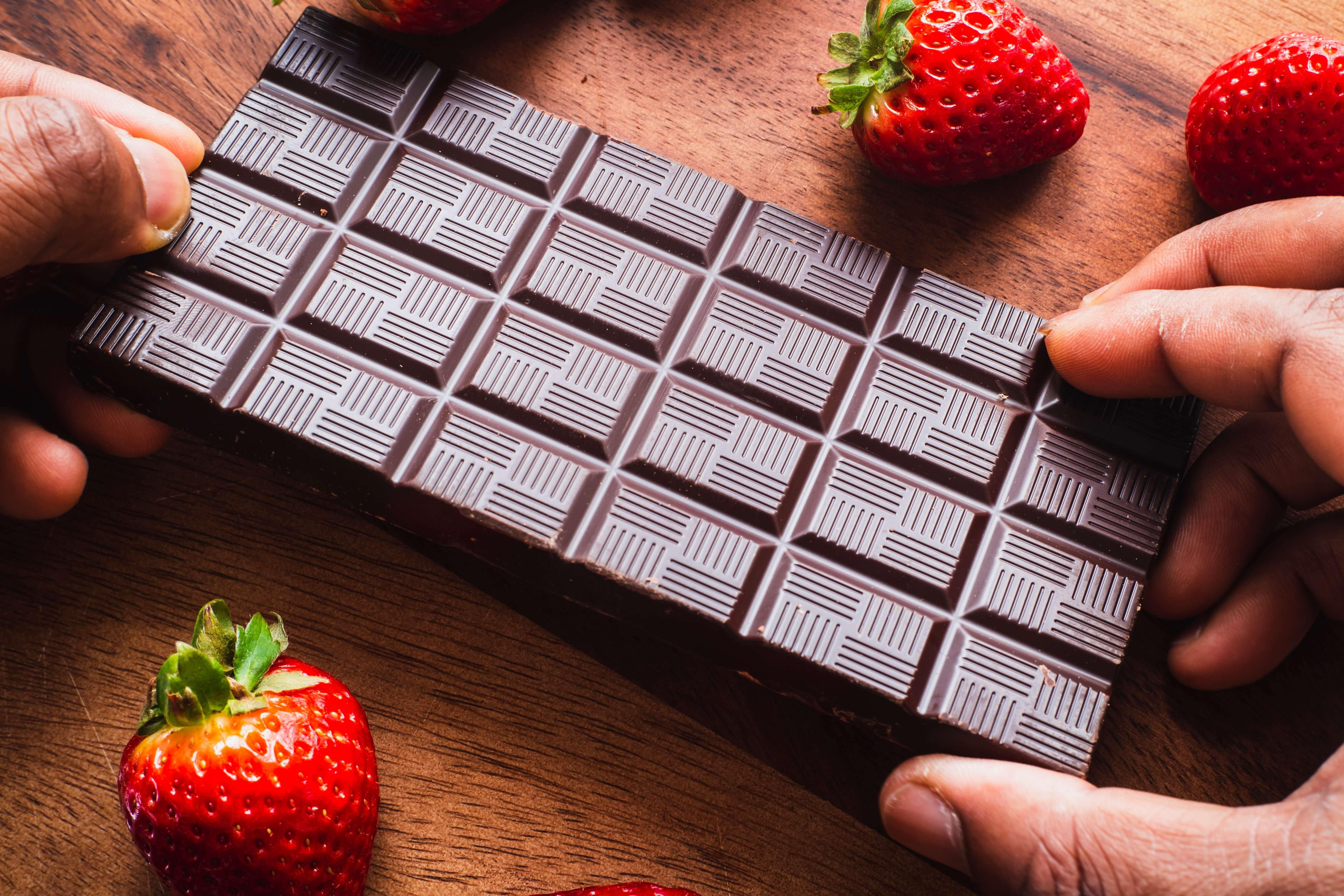 chocolat fruits fraises