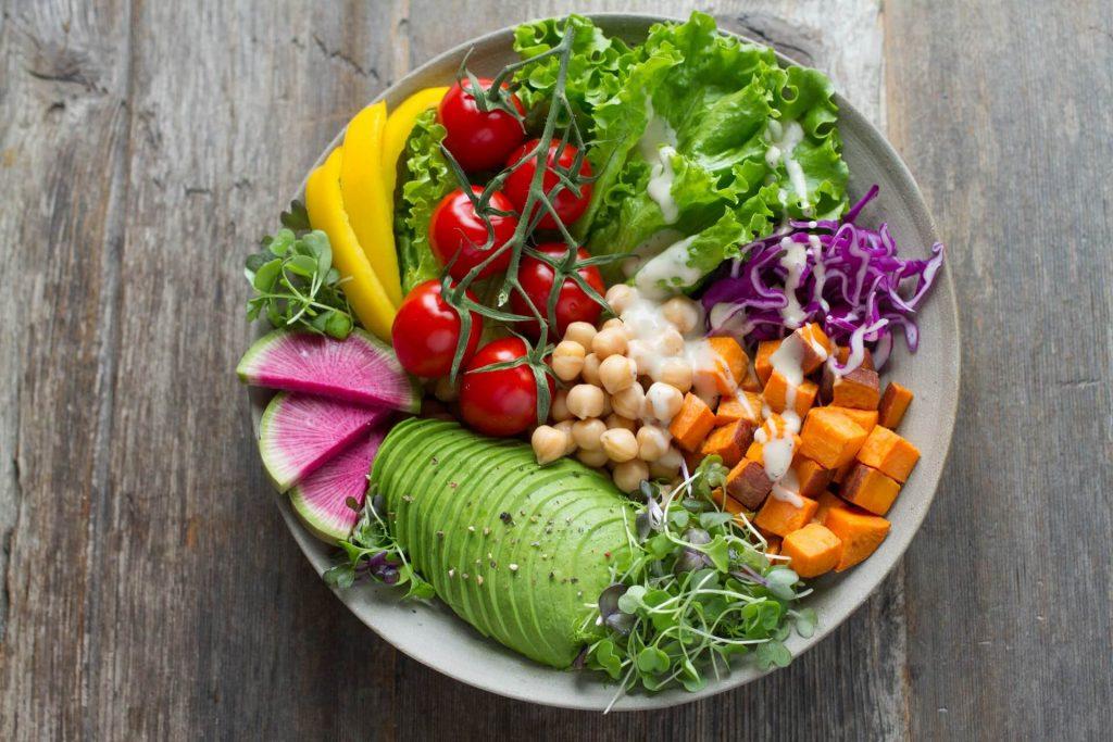 légumes assiette manger santé