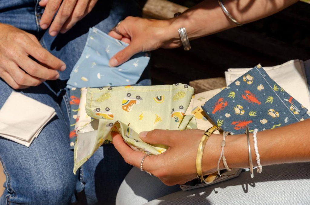 sacs à collation réutilisables