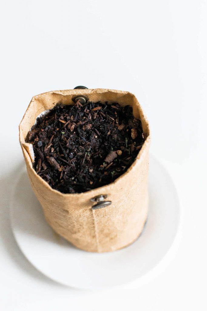 compost terre résidus alimentaires