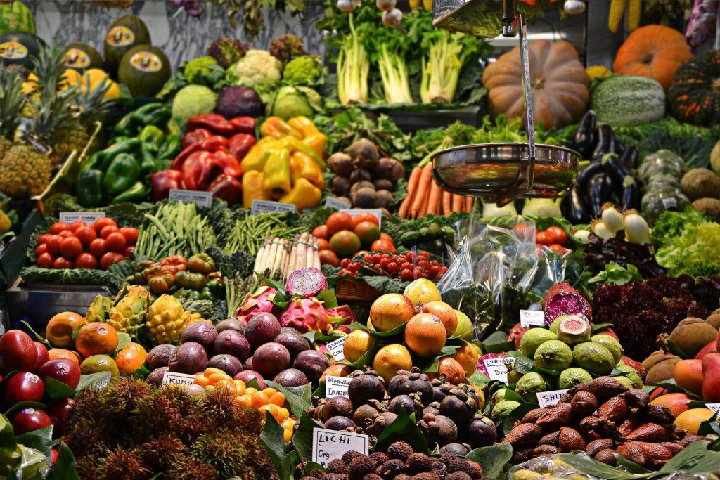 manger santé légumes épicerie