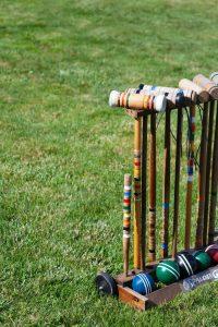 jeux d'extérieur croquet