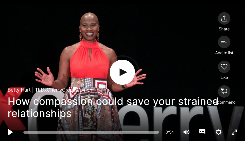 TED Talk compassion relations