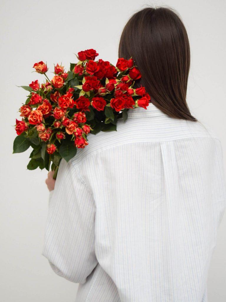 Donner, fleur, toi, moi