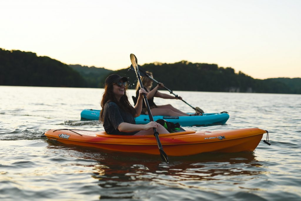 kayak entre amis