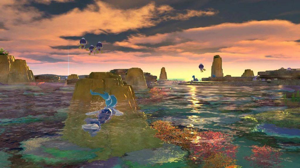 Vue du récif dans New Pokémon Snap