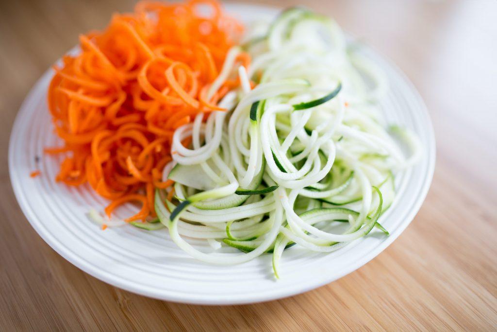 nouilles de légumes