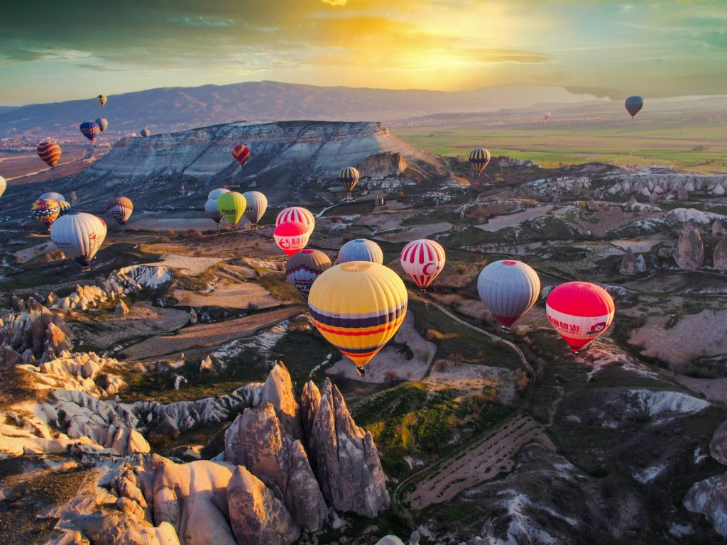 montgolfières Cappadoce
