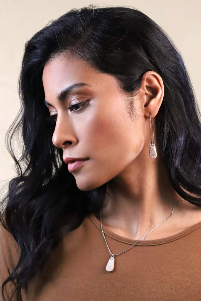 Bijoux pépine boucles d'oreilles