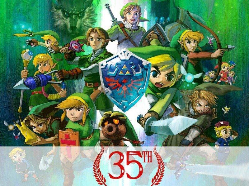 35e anniversaire Zelda