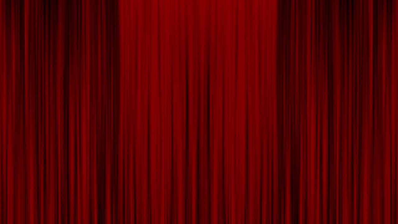 rideau rouge d'une salle de spectacle